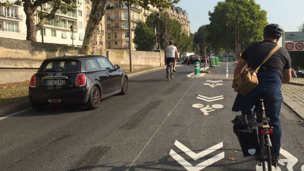 Can Paris become the world's bicycle capital?