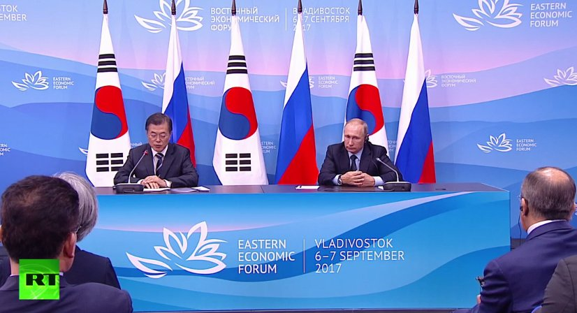 Putin: Russia and South Korea seek increased economic cooperation - LIVE NOW