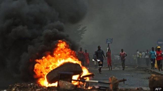 Burundi accused of crimes against humanity