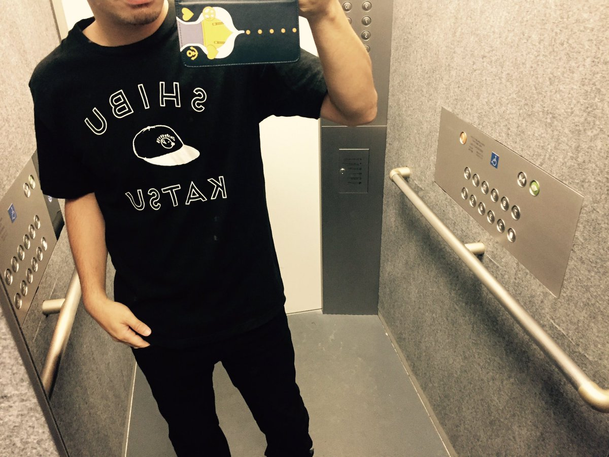 とんかつDJアゲ太郎/SHIBUKATSU T#今日のTシャツ#きょうのてぃーしゃつ