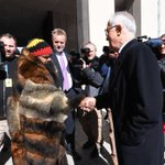 Prime Minister meets with Aboriginal man who walked from Perth to Parliament House