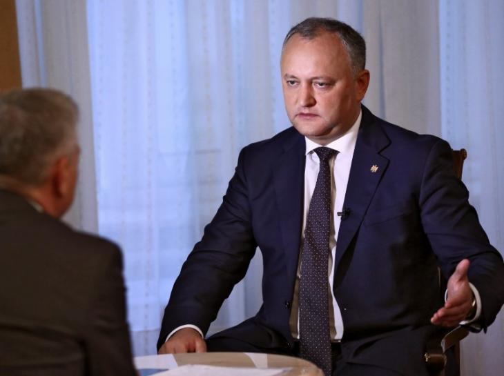 Moldovan president vetoes participation in NATO country exercises