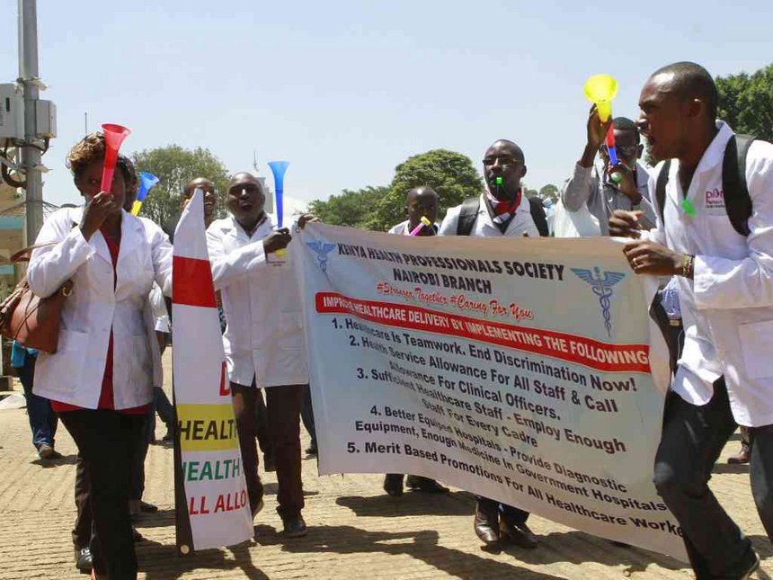 Clinical officers issue strike notice over delayed July salaries