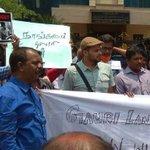 Gauri Lankesh murder: journalists protest in Chennai