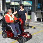 NorthAble Equipment Plus ensures client doesn't miss out on new mobility scooter