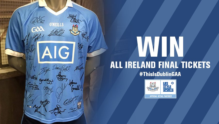 Head over to our Facebook page where we're giving away a serious prize for any true Dubs fan! #ThisIsDublinGAA https://t.co/H7xGXGsW7k