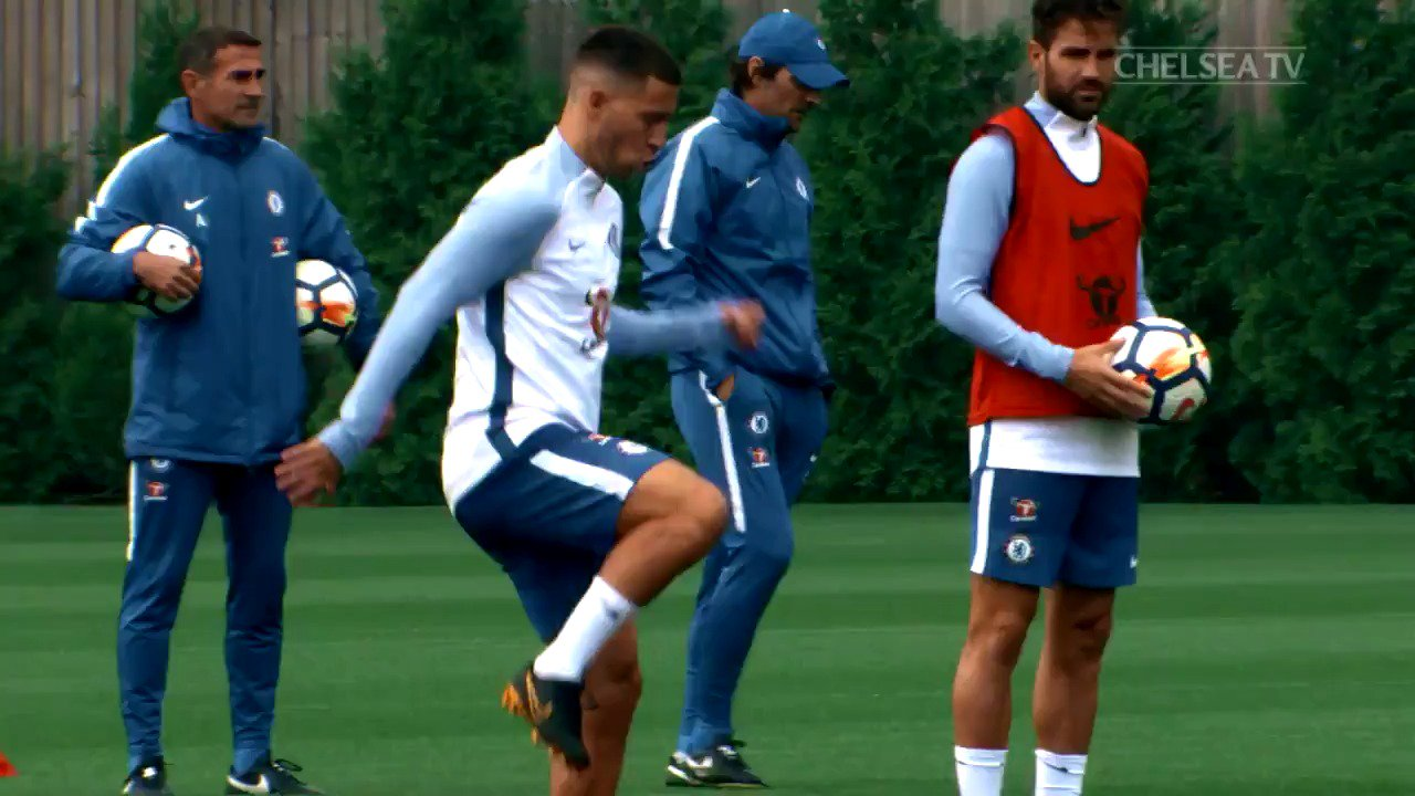 Preparing for Leicester... �� https://t.co/ionFn5kp2M