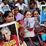 Protests In Karnataka Over Killing Of Bengaluru Journalist Gauri Lankesh