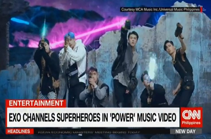 EXO channels superheroes in 'Power' music video | #CNNPHNewDay live https://t.co/CaczwF9CtH https://t.co/dqhGfqbger