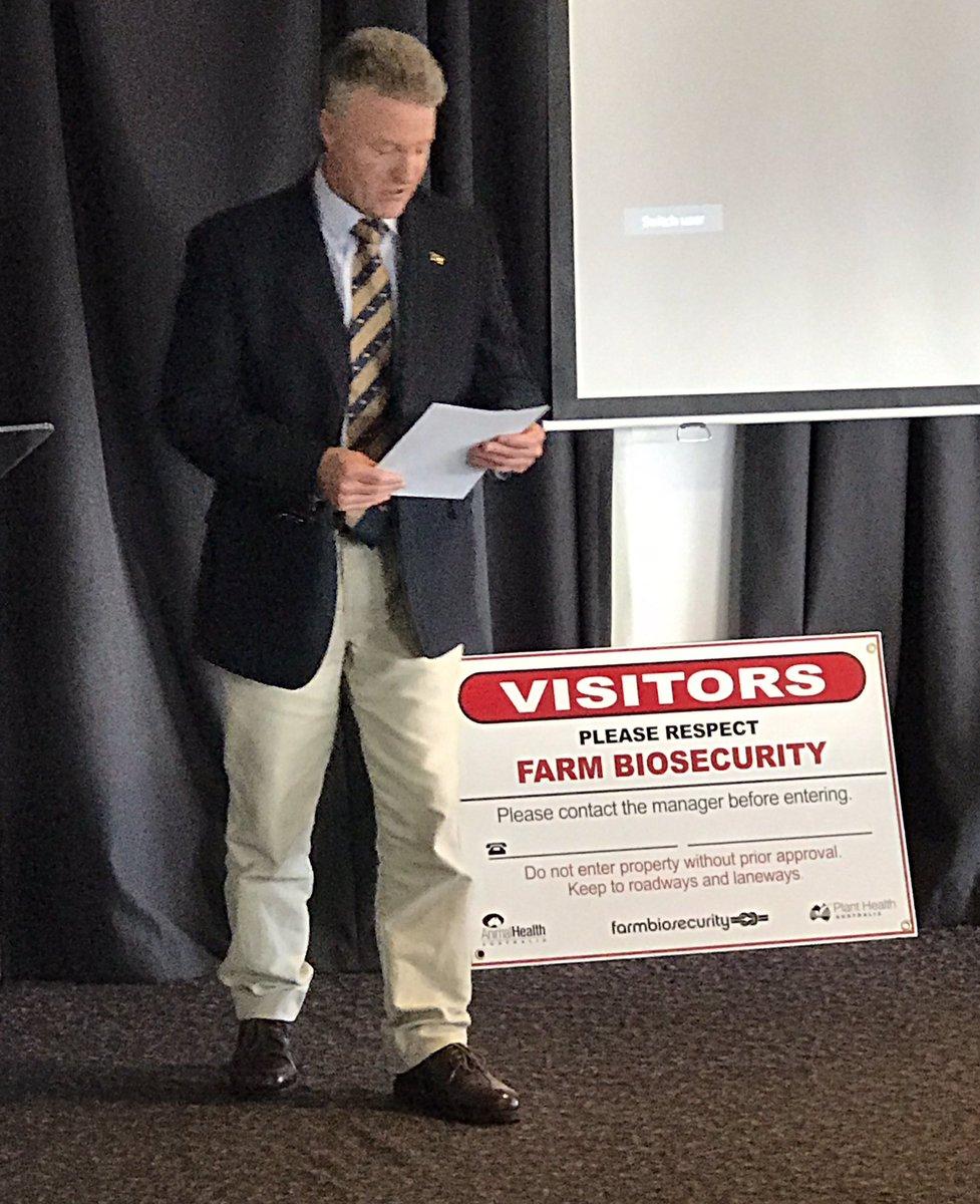 @cattlecouncilau Brett Hall opens the Tasmanian...