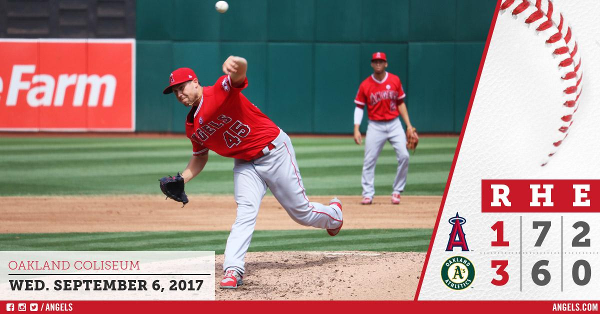 #Angels drop finale in Oakland.  #HaloRecap: https://t.co/yz9gkK8DVn https://t.co/kR6hr5FCDp