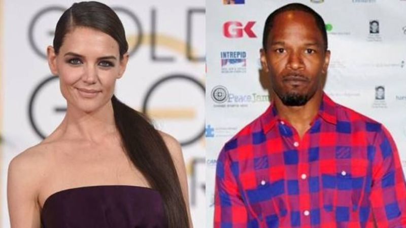 Katie Holmes and Jamie Foxx FINALLY go public with their