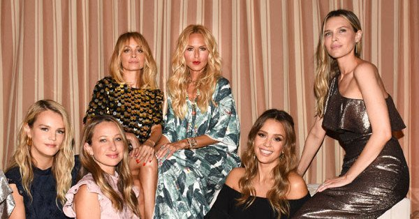 Taylor Swift may have a squad, but Rachel Zoe has her girl gang.