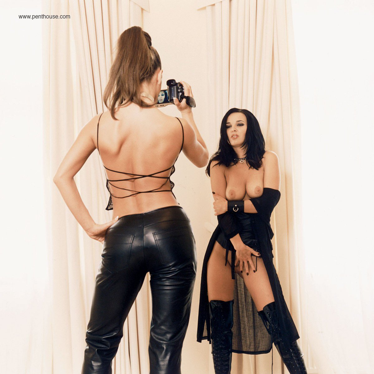 1 pic. We've got leather loving lesbians Martina and Zena in our Sept. mag #OnNewsstandsNow /