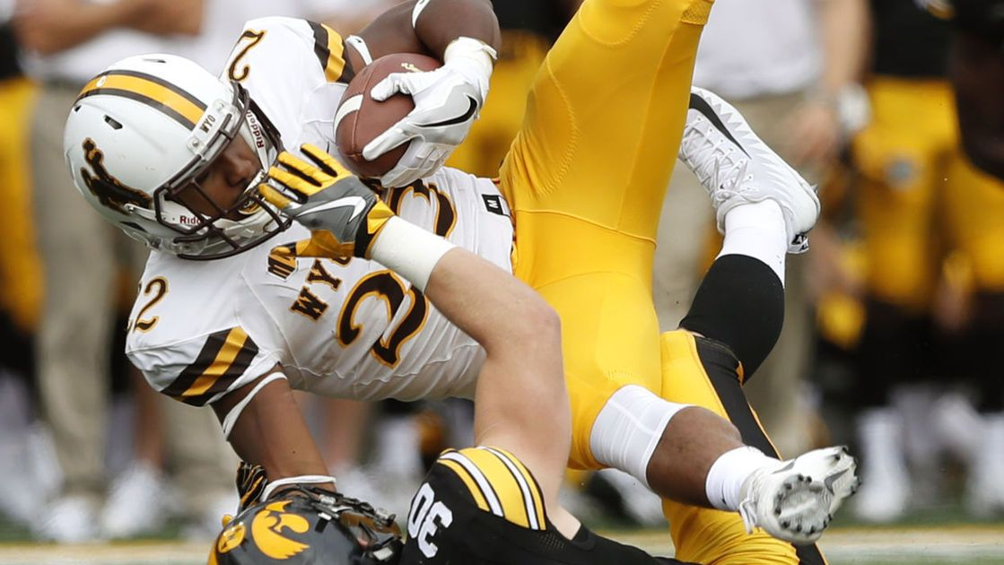 Room for improvement for Wyoming running backs after ground game struggles at Iowa