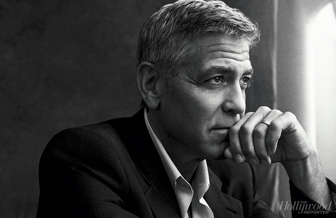 "George Clooney: ""The loneliest you will get is in the most public of arenas"""