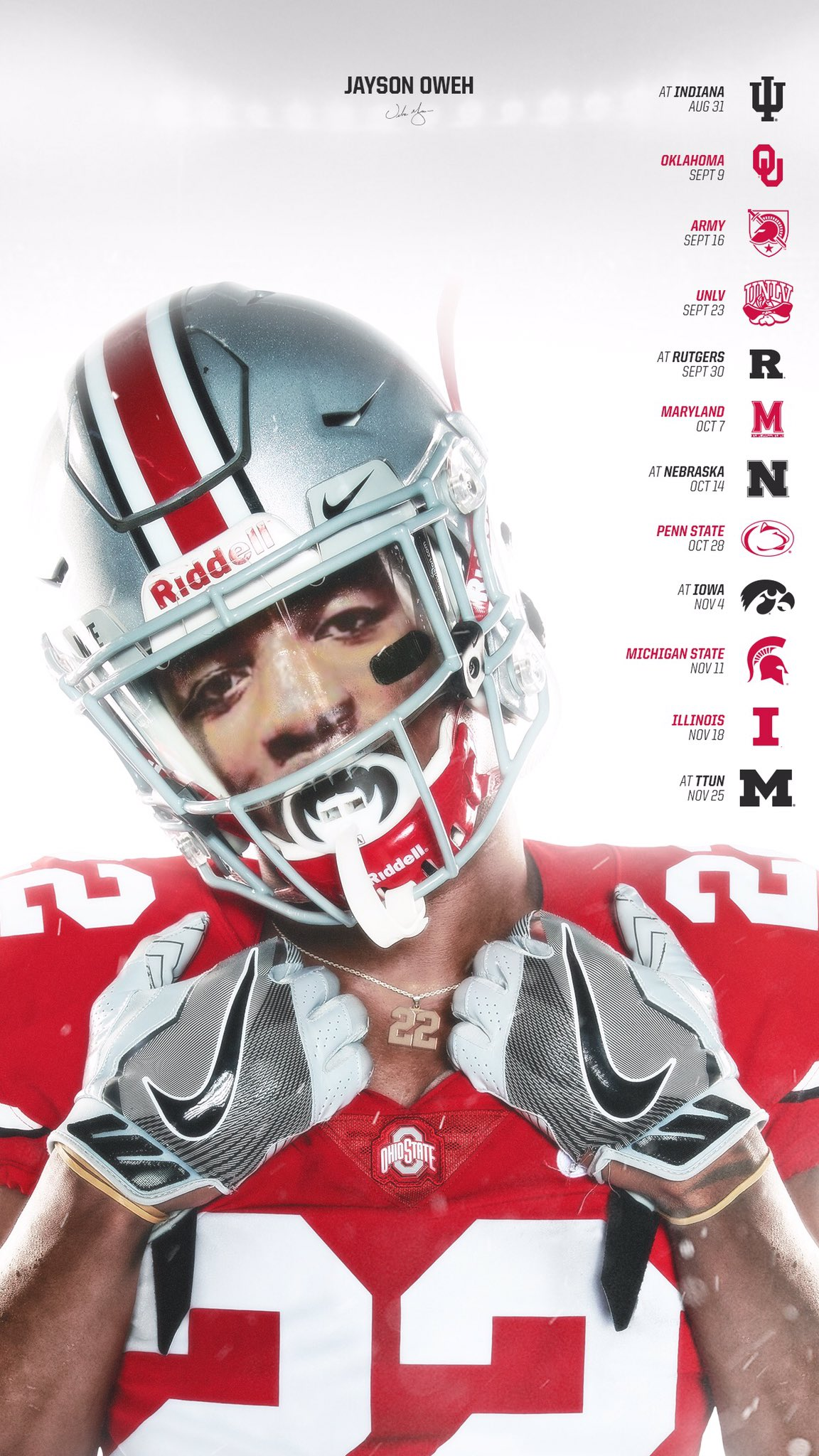 First time at a college game this weekend🔥 what's that Columbus atmosphere like?🌰⭕️🤔 https://t.co/ZVKbfgsuAY