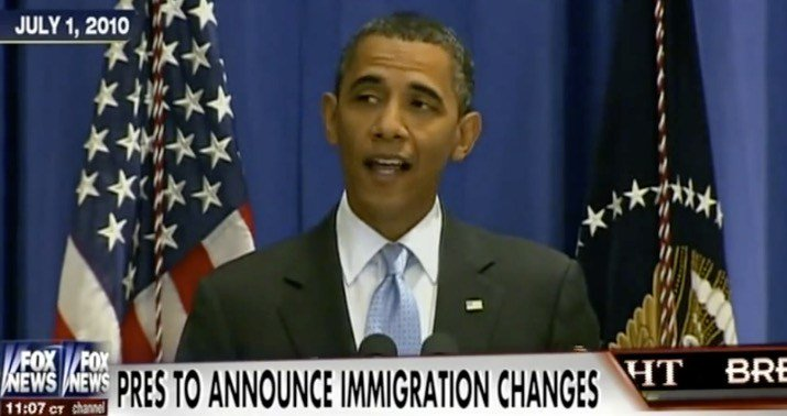 Remember all the times Obama said he didn't have the power to rewrite immigration laws?