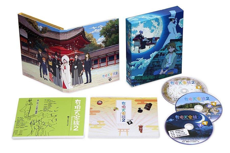 【10/13「有頂天家族2」BD-BOX下巻発売】豪華描き下ろしイラストを使用したBOX&デジパックに、第一話絵コンテブ