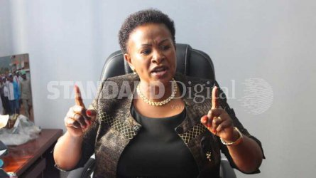 Wiper's Wavinya Ndeti files petition to challenge Machakos Governor Alfred Mutua's win