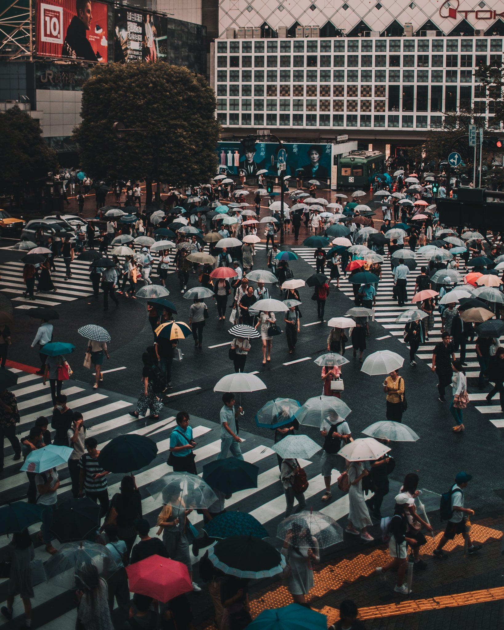 Tokyo in rain ���� https://t.co/BT2AhcFYHZ