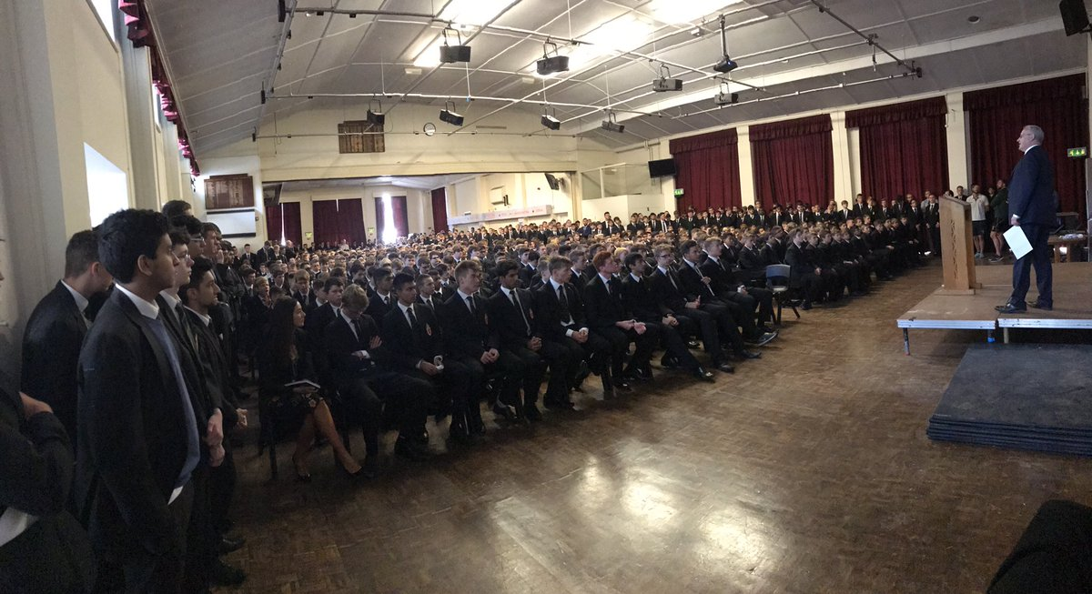 test Twitter Media - Welcome back. First Whole School Assembly of the year. Uno Animo! https://t.co/KdISQbC9k5