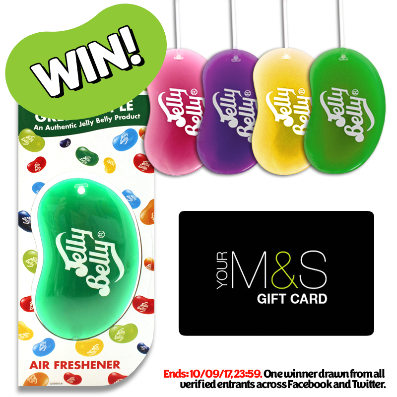 RT to #win a £20 M&S gift card and some Jelly Belly goodies! Second entry over on Facebook. https://t.co/Kj7fvNSsUz