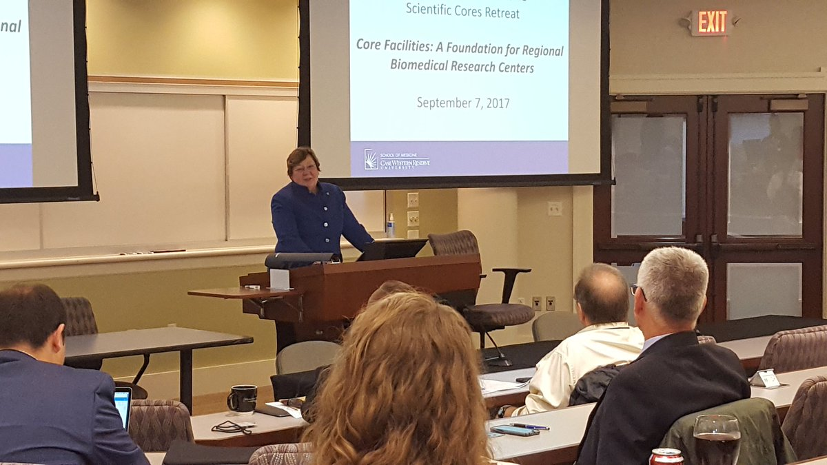 test Twitter Media - Dean Davis kicks of the @CWRUSOM core facilities retreat. Should be an exciting day! https://t.co/SEiFyPorMQ