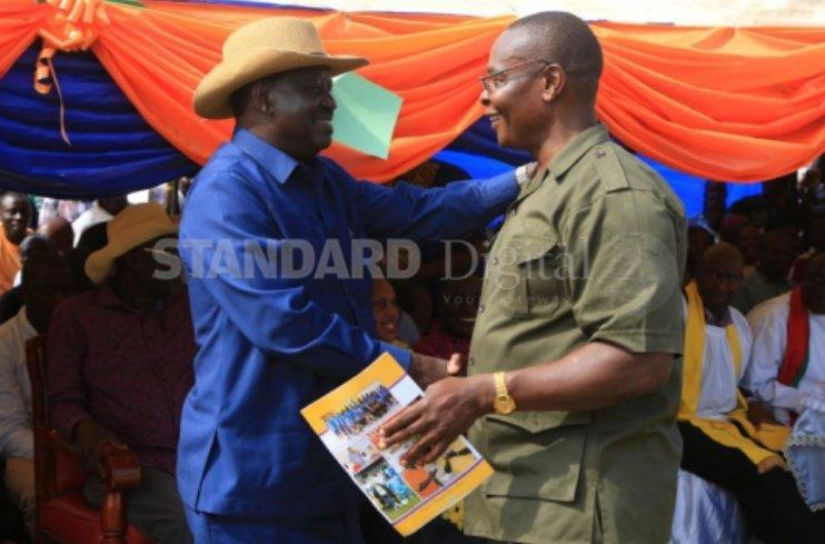 Busia governor race loser Paul Otuoma backs Uhuru Kenyatta