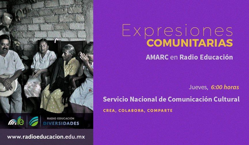 A las 6 h escucha #ExpresionesComunitarias de @amarcmexico en nuestra #BarraDelAmanecer https://t.co/NHiFo81n6d https://t.co/VubvJZ4As8