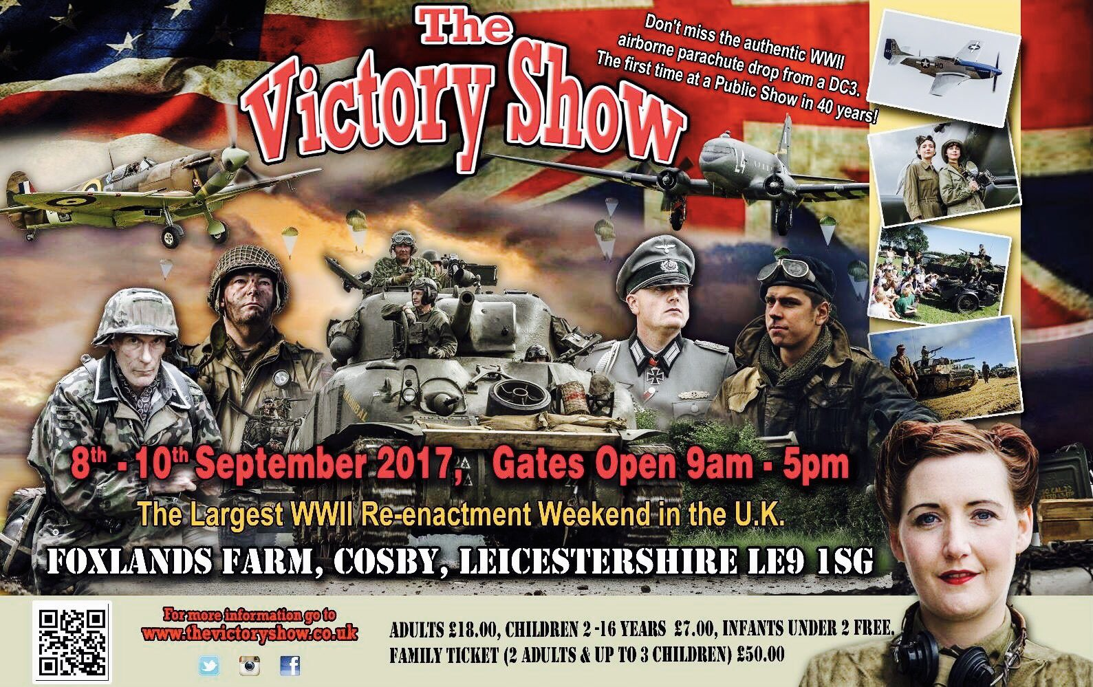 Not long to go now!!!  Busy busy busy!!  We hope to see you there #thevictoryshow #1940s https://t.co/pYFkNIsLjf