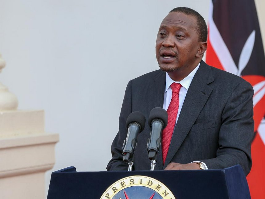 Uhuru begins campaign blitz in West Pokot to woo support