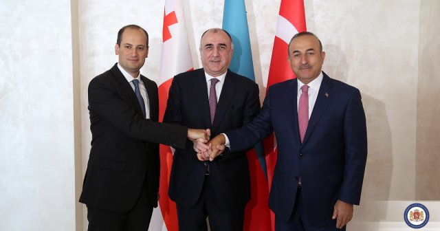 Georgia, Azerbaijan, Turkey Hold Trilateral Meeting in Baku