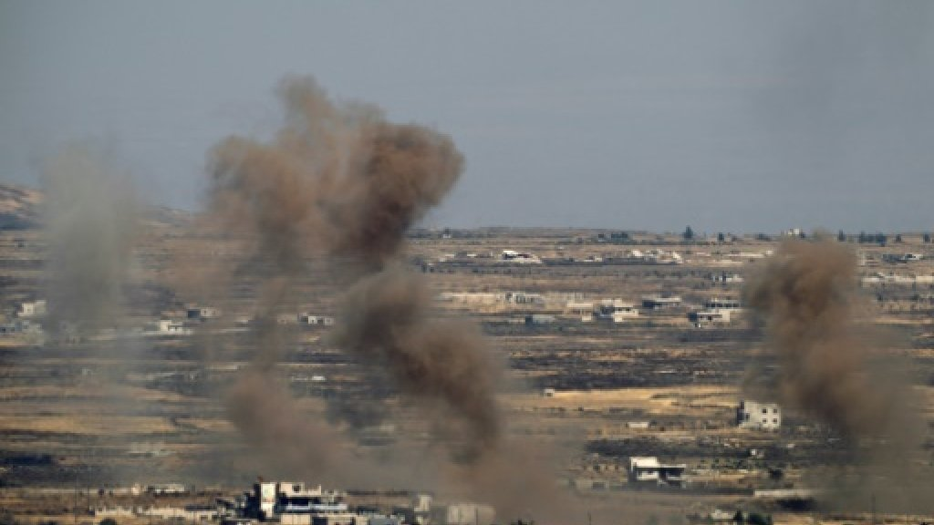 Syria army says Israeli strikes hit military facility in west