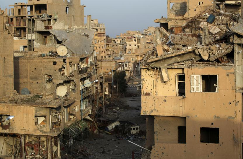Aid convoy reaches Syria's Deir al-Zor after three-year siege