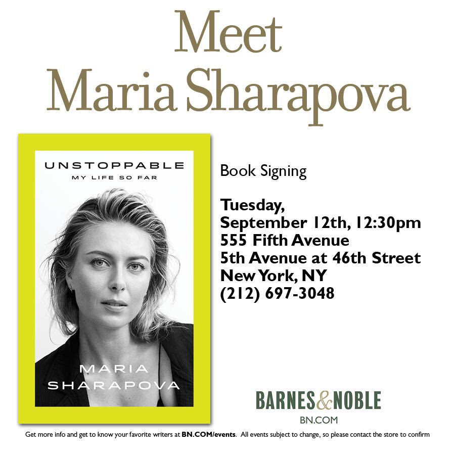 Hey NYC! Can't wait to see you on 9/12 – launch day for #Unstoppable! @BNFifthAvenue   https://t.co/xwkgXoXj8Y https://t.co/wfWxCYl4Cp