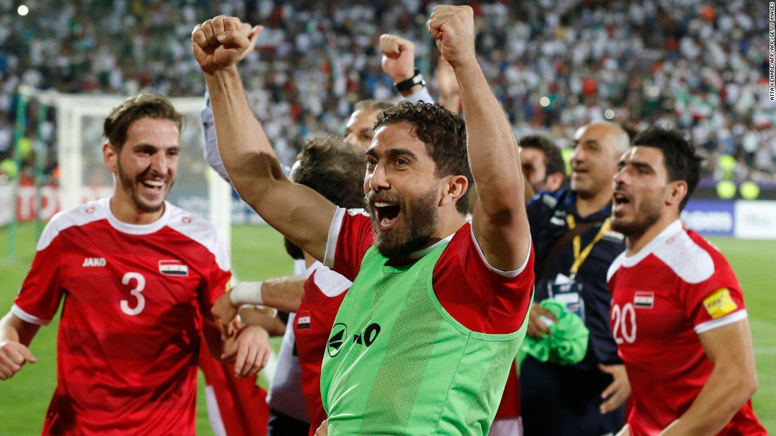 Syrian soccer star not giving up on World Cup dream