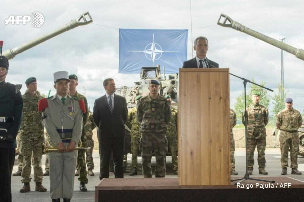 NATO on guard ahead of major Russian war games with Belarus