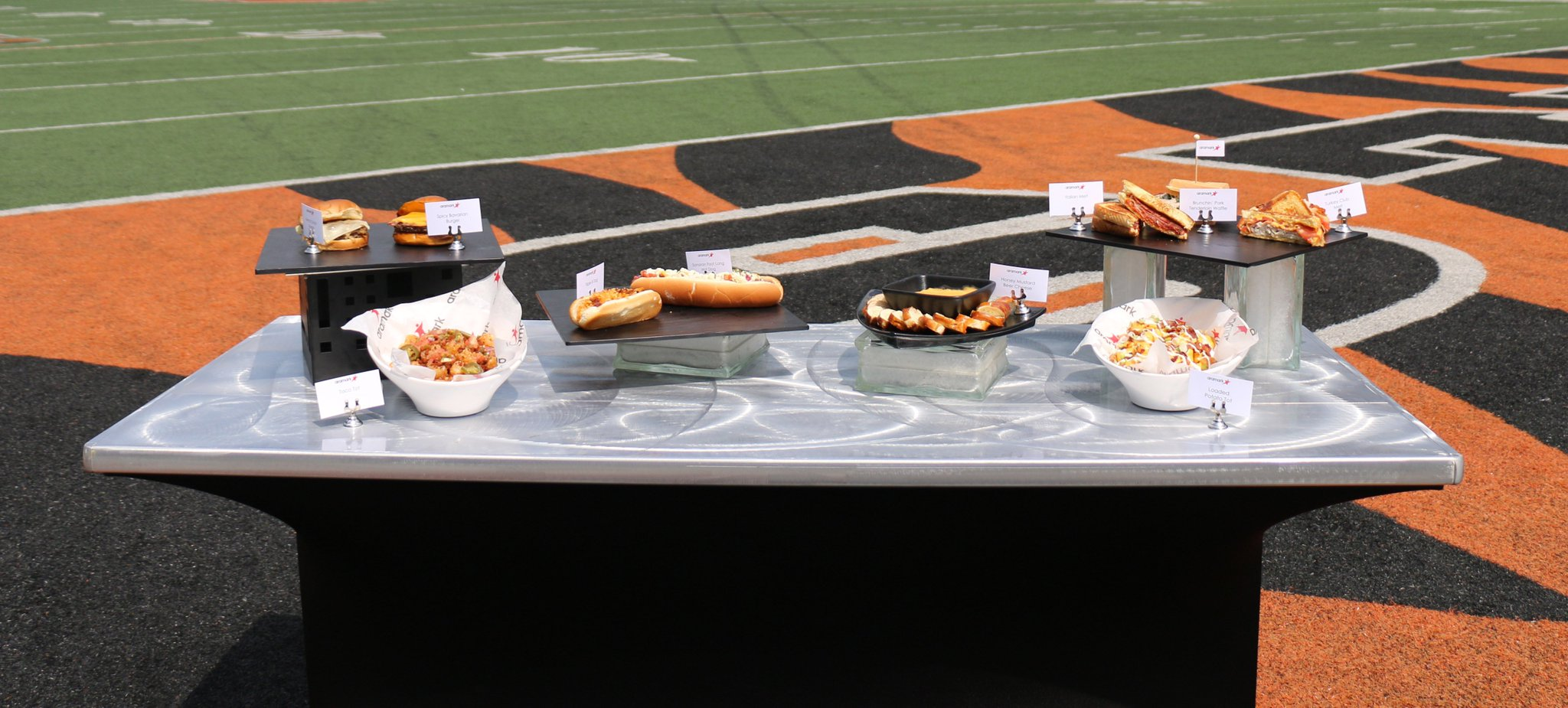 You're going to want to try the new food at Paul Brown Stadium this season. #Bengals50   ��: https://t.co/Ej2EXWgXqo https://t.co/5wOTSzgapB