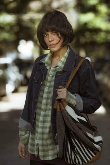 """Carla Salle. Foto do site da RD1 que mostra Carla Salle estará na supersérie """"Onde Nascem os Fortes"""""""