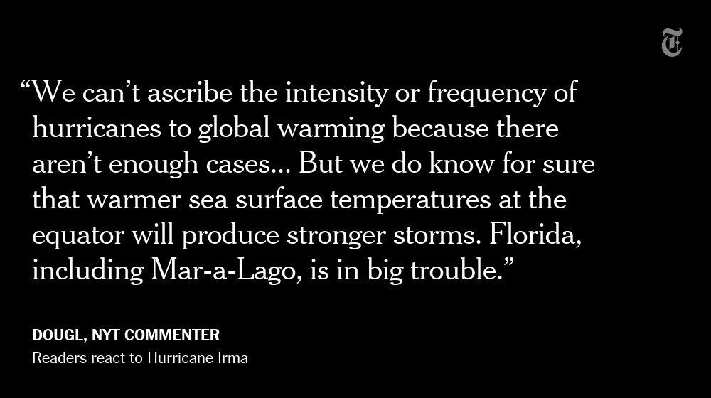 One NYT reader's reaction to Hurricane Irma https://t.co/RqHRpUX3n7 https://t.co/CM9LIc0Xbs