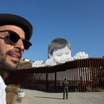 JR, the French artist behind that baby installation on the U.S.-Mexico border, is speaking in L.A. tonight