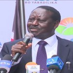 Chebukati memo confirms election was stolen - Raila Odinga