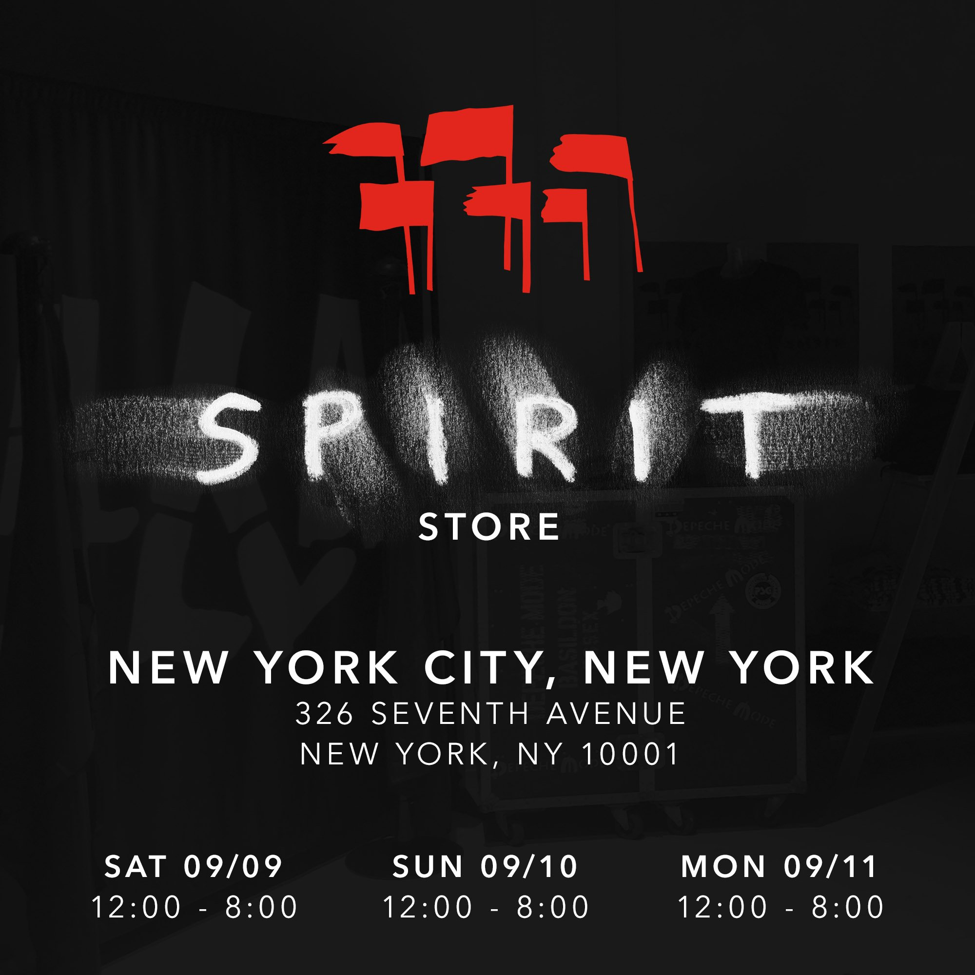 The 'Spirit' store is coming to NYC this weekend. Stay tuned for more details... https://t.co/MCpeLDcakP