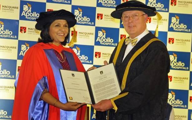Apollo JMD conferred honorary doctorate