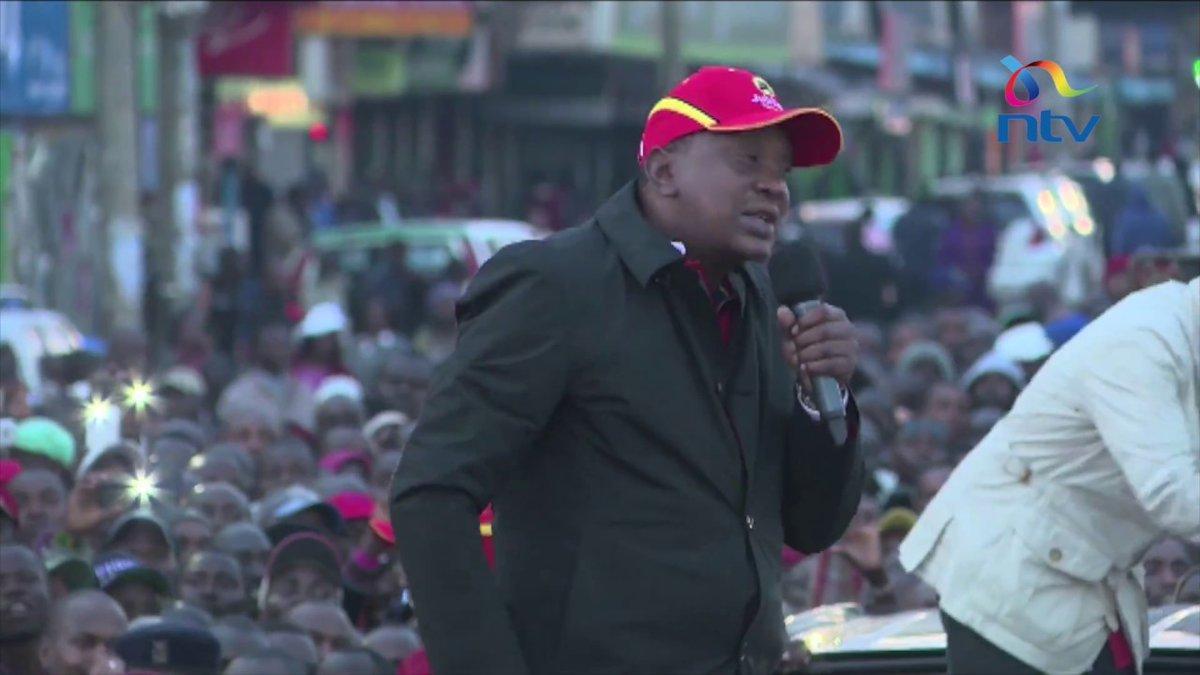 President Uhuru Kenyatta, deputy campaign in Bungoma, West Pokot, Uasin Gishu