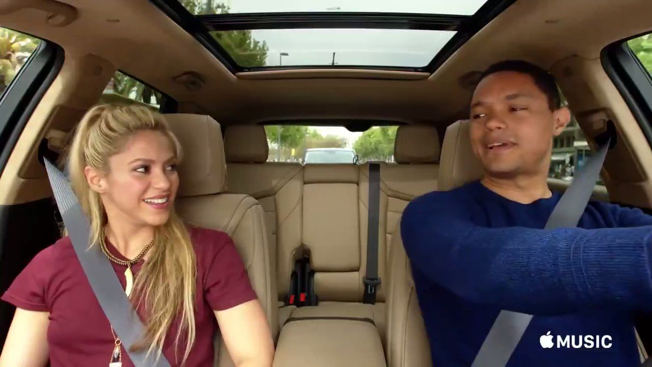 Coming Tuesday... @CarpoolKaraoke with @Trevornoah / Este Martes... #CarpoolKaraoke en @AppleMusic! ShakHQ https://t.co/dv47nDXyED