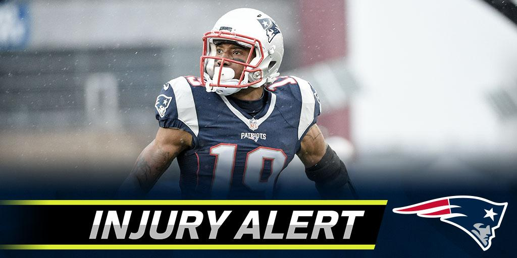 Patriots place WR Malcolm Mitchell on injured reserve: https://t.co/J6eqCLCuEC (via @RapSheet) https://t.co/hTWcBAkFou