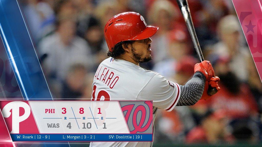Alfaro and Joseph hit solo homers in loss to Washington: https://t.co/RVfpEZPpAg https://t.co/TV1RtrDTtt