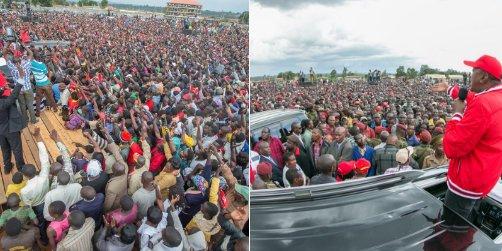 President Kenyatta woos Bungoma voters